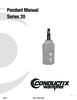 Manual - Push Button Pendants, 20 Series