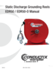 Manual - Grounding Reel EDR50