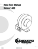 Manual - Hose Reels, 1400 Series
