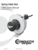 Manual - Cable Reels, 1400 Series