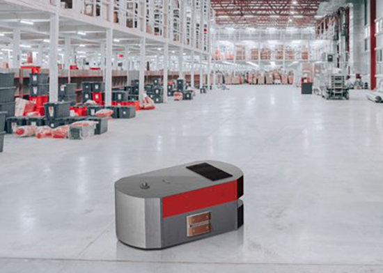 Contactos de carga de robots móviles autónomos AMR Nano