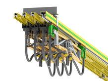 4-pole conductor rail system with ProfiDAT