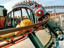 Conductor Rails are often in use for the electrification of Roller Coaster