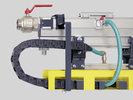 Sistemas de suministro eléctrico y de aire comprimido
